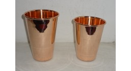Pint Glasses Solid Copper